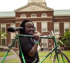 Student Stories: Muyambi Muyambi- Bicycles Against Poverty
